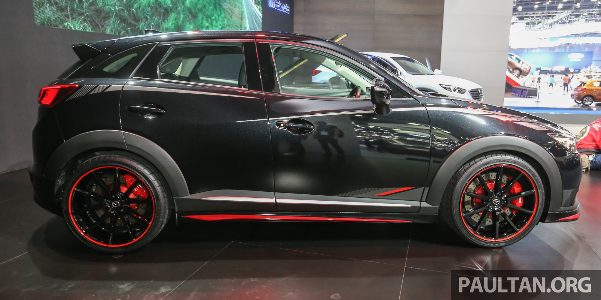 Gallery Mazda Cx 3 Racing Concept At Bangkok Paul Tan