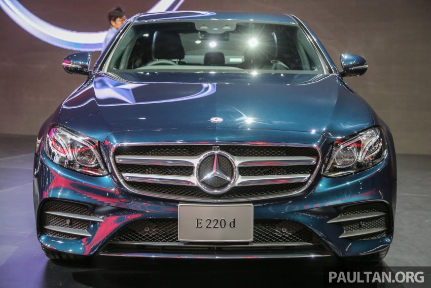 W213 Mercedes E-Class makes ASEAN debut at BKK show – E220d Exclusive, AMG Dynamic for Thailand Image #464526