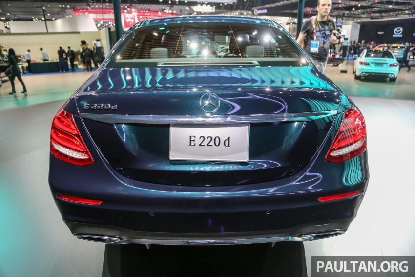 W213 Mercedes E-Class makes ASEAN debut at BKK show – E220d Exclusive, AMG Dynamic for Thailand Image #464542