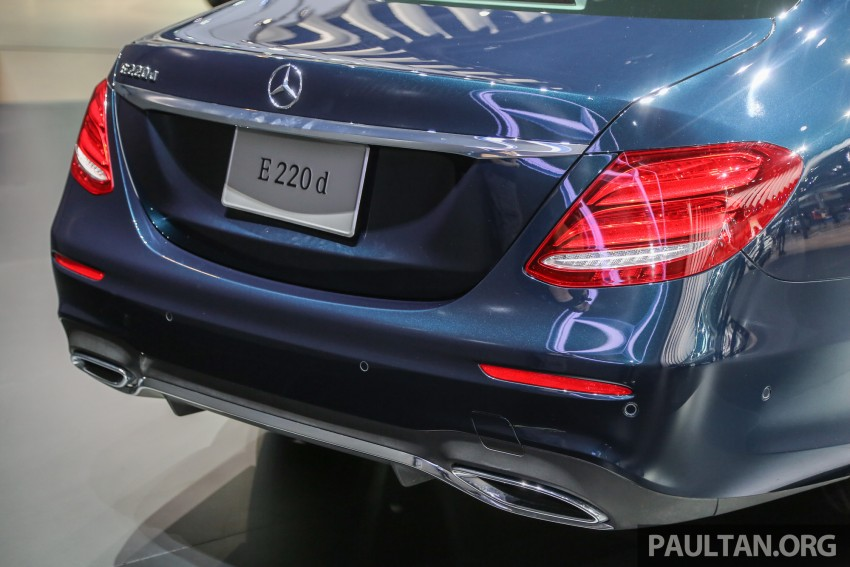 W213 Mercedes E-Class makes ASEAN debut at BKK show – E220d Exclusive, AMG Dynamic for Thailand Image #464544