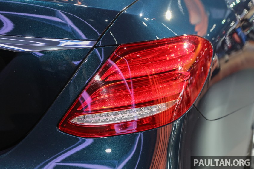 W213 Mercedes E-Class makes ASEAN debut at BKK show – E220d Exclusive, AMG Dynamic for Thailand Image #464545