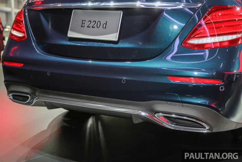 W213 Mercedes E-Class makes ASEAN debut at BKK show – E220d Exclusive, AMG Dynamic for Thailand Image #464546