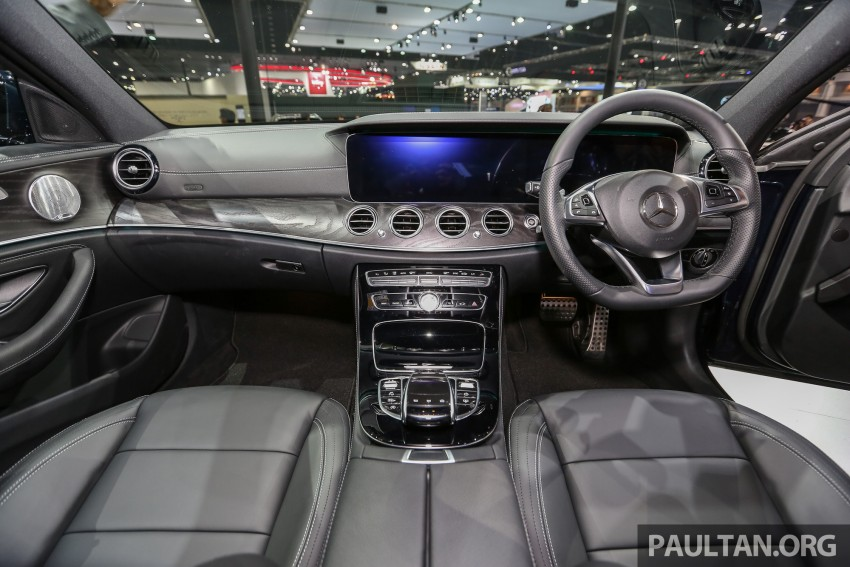 W213 Mercedes E-Class makes ASEAN debut at BKK show – E220d Exclusive, AMG Dynamic for Thailand Image #464548