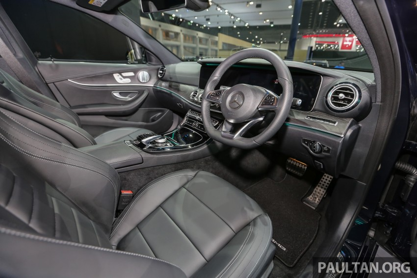 W213 Mercedes E-Class makes ASEAN debut at BKK show – E220d Exclusive, AMG Dynamic for Thailand Image #464549
