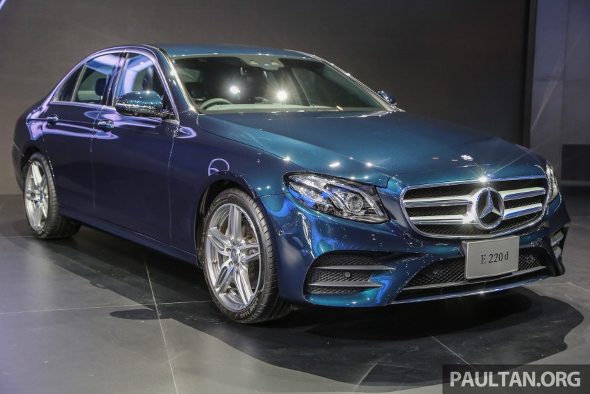W213 Mercedes E-Class makes ASEAN debut at BKK show – E220d Exclusive, AMG Dynamic for Thailand Image #464527