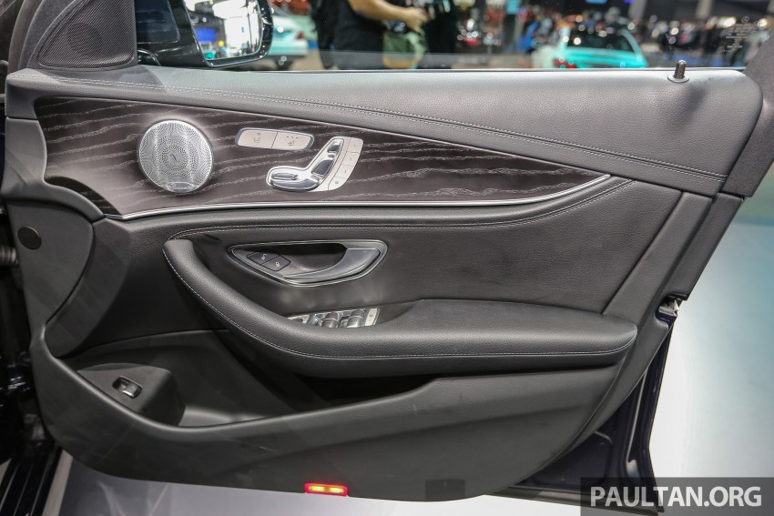 W213 Mercedes E-Class makes ASEAN debut at BKK show – E220d Exclusive, AMG Dynamic for Thailand Image #464552