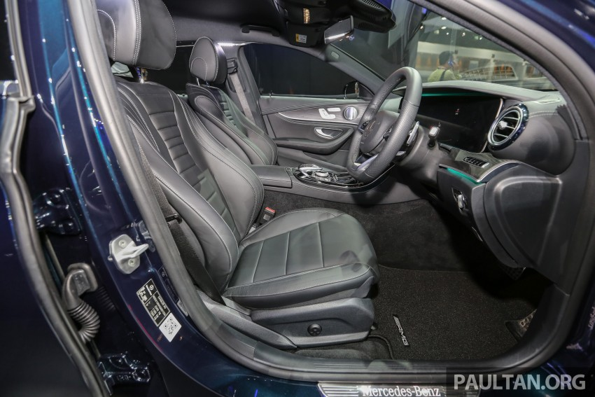 W213 Mercedes E-Class makes ASEAN debut at BKK show – E220d Exclusive, AMG Dynamic for Thailand Image #464553