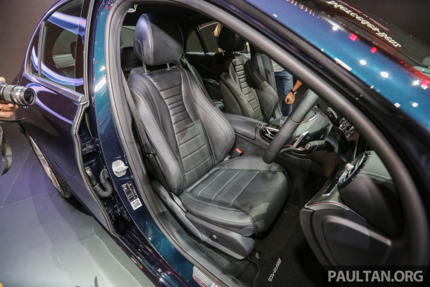 W213 Mercedes E-Class makes ASEAN debut at BKK show – E220d Exclusive, AMG Dynamic for Thailand Image #464554