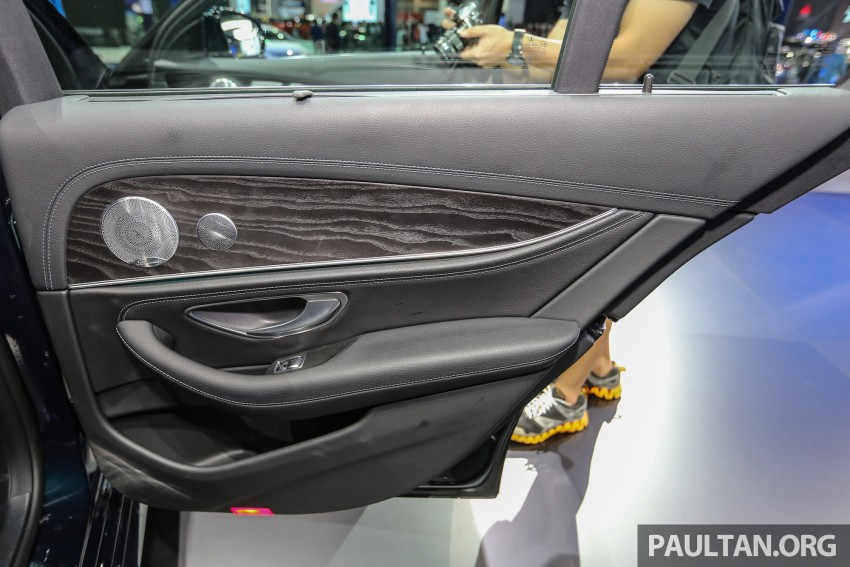 W213 Mercedes E-Class makes ASEAN debut at BKK show – E220d Exclusive, AMG Dynamic for Thailand Image #464555