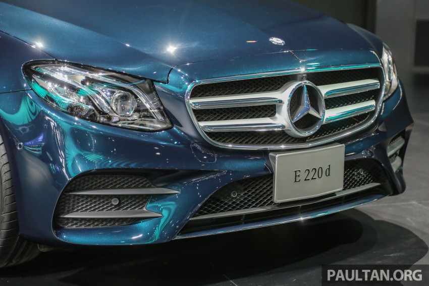 W213 Mercedes E-Class makes ASEAN debut at BKK show – E220d Exclusive, AMG Dynamic for Thailand Image #464528