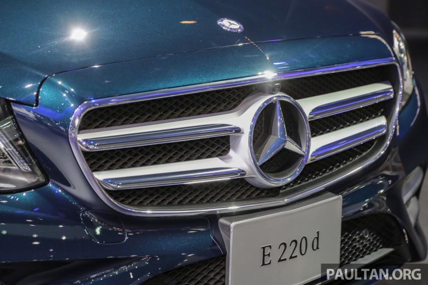 W213 Mercedes E-Class makes ASEAN debut at BKK show – E220d Exclusive, AMG Dynamic for Thailand Image #464535
