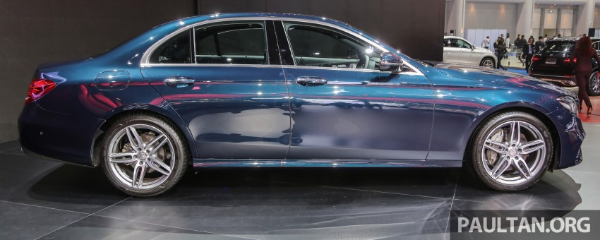 W213 Mercedes E-Class makes ASEAN debut at BKK show – E220d Exclusive, AMG Dynamic for Thailand Image #464538