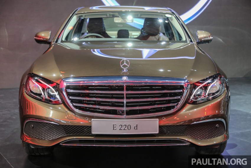 W213 Mercedes E-Class makes ASEAN debut at BKK show – E220d Exclusive, AMG Dynamic for Thailand Image #464578