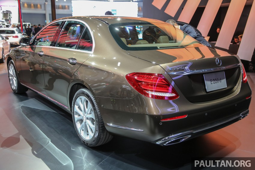 W213 Mercedes E-Class makes ASEAN debut at BKK show – E220d Exclusive, AMG Dynamic for Thailand Image #464594