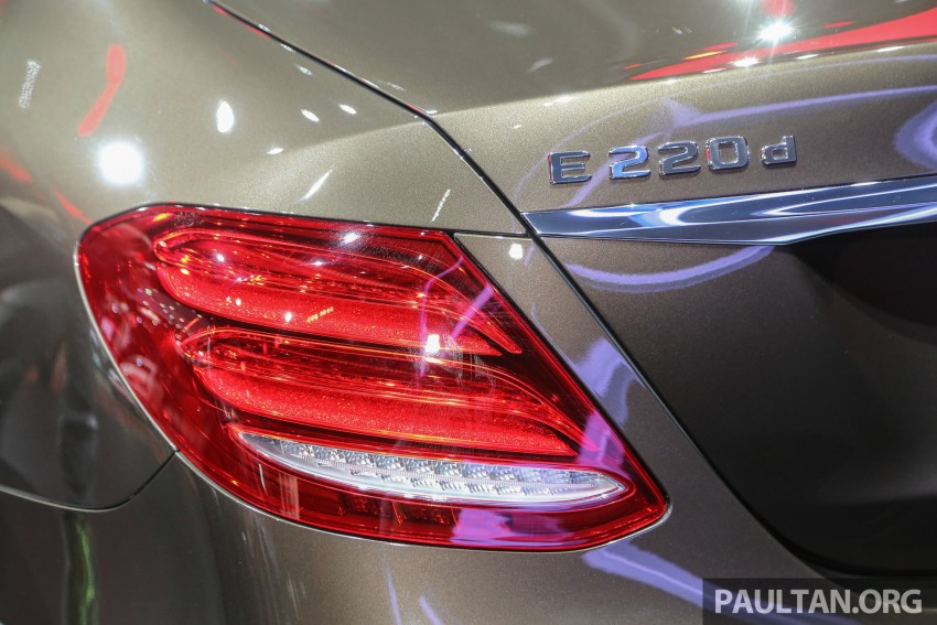 W213 Mercedes E-Class makes ASEAN debut at BKK show – E220d Exclusive, AMG Dynamic for Thailand Image #464597