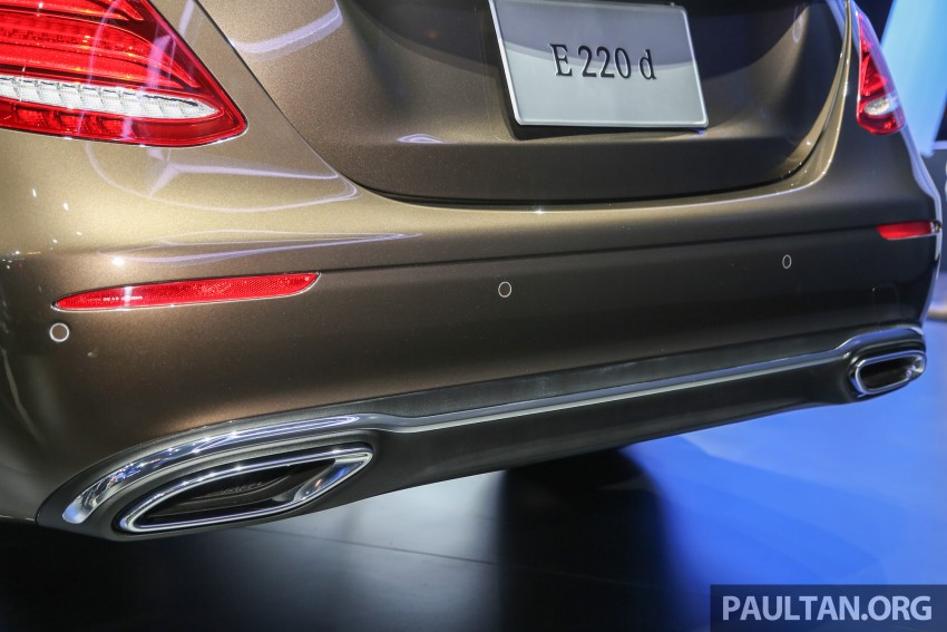 W213 Mercedes E-Class makes ASEAN debut at BKK show – E220d Exclusive, AMG Dynamic for Thailand Image #464599