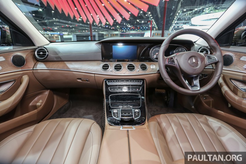 W213 Mercedes E-Class makes ASEAN debut at BKK show – E220d Exclusive, AMG Dynamic for Thailand Image #464600