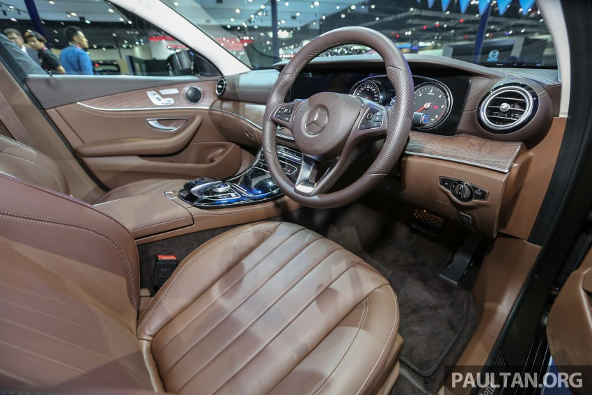W213 Mercedes E-Class makes ASEAN debut at BKK show – E220d Exclusive, AMG Dynamic for Thailand Image #464602