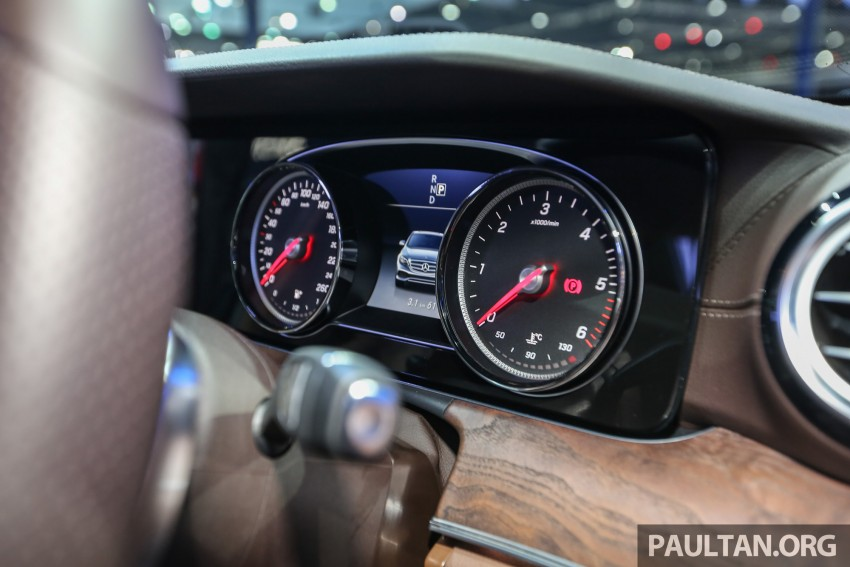W213 Mercedes E-Class makes ASEAN debut at BKK show – E220d Exclusive, AMG Dynamic for Thailand Image #464603