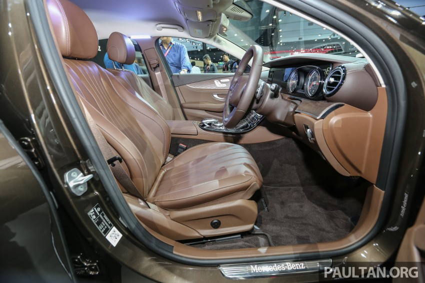 W213 Mercedes E-Class makes ASEAN debut at BKK show – E220d Exclusive, AMG Dynamic for Thailand Image #464604