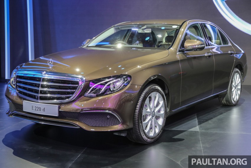 W213 Mercedes E-Class makes ASEAN debut at BKK show – E220d Exclusive, AMG Dynamic for Thailand Image #464580