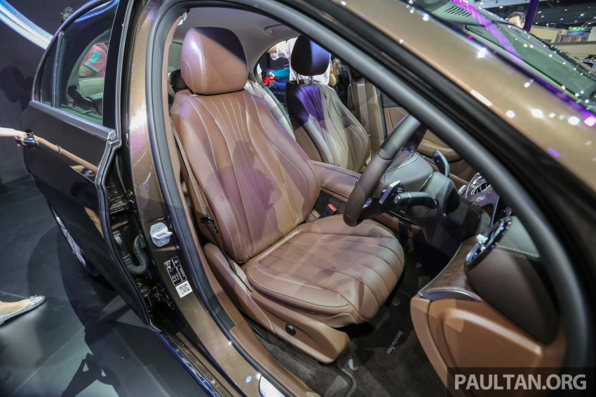 W213 Mercedes E-Class makes ASEAN debut at BKK show – E220d Exclusive, AMG Dynamic for Thailand Image #464607
