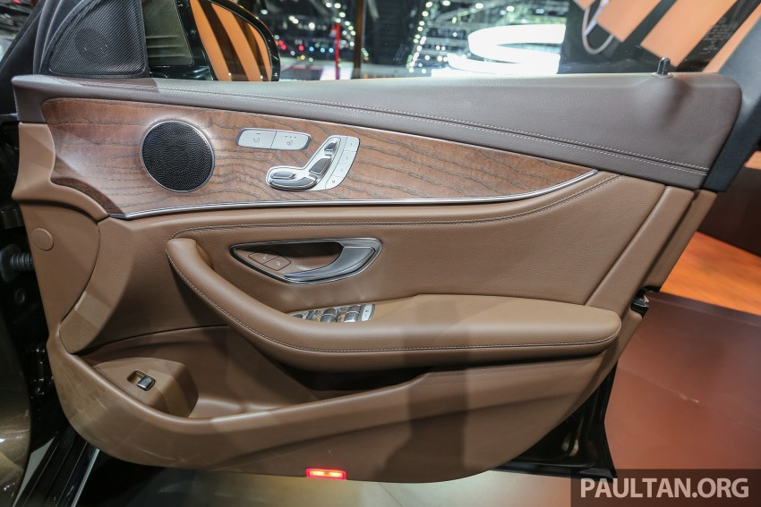 W213 Mercedes E-Class makes ASEAN debut at BKK show – E220d Exclusive, AMG Dynamic for Thailand Image #464608