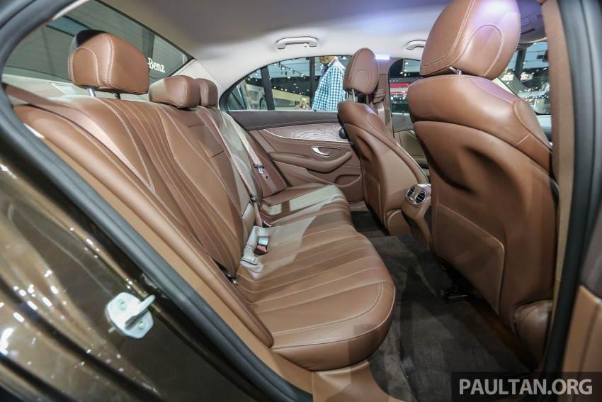 W213 Mercedes E-Class makes ASEAN debut at BKK show – E220d Exclusive, AMG Dynamic for Thailand Image #464609