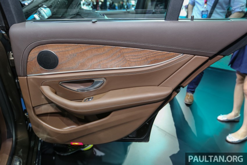 W213 Mercedes E-Class makes ASEAN debut at BKK show – E220d Exclusive, AMG Dynamic for Thailand Image #464611