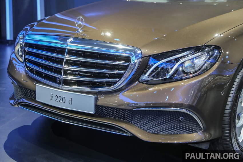 W213 Mercedes E-Class makes ASEAN debut at BKK show – E220d Exclusive, AMG Dynamic for Thailand Image #464581