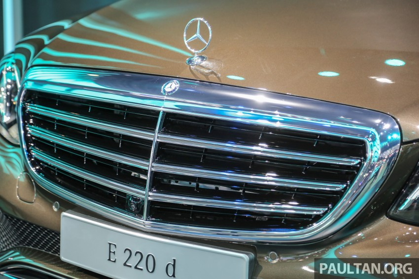 W213 Mercedes E-Class makes ASEAN debut at BKK show – E220d Exclusive, AMG Dynamic for Thailand Image #464584