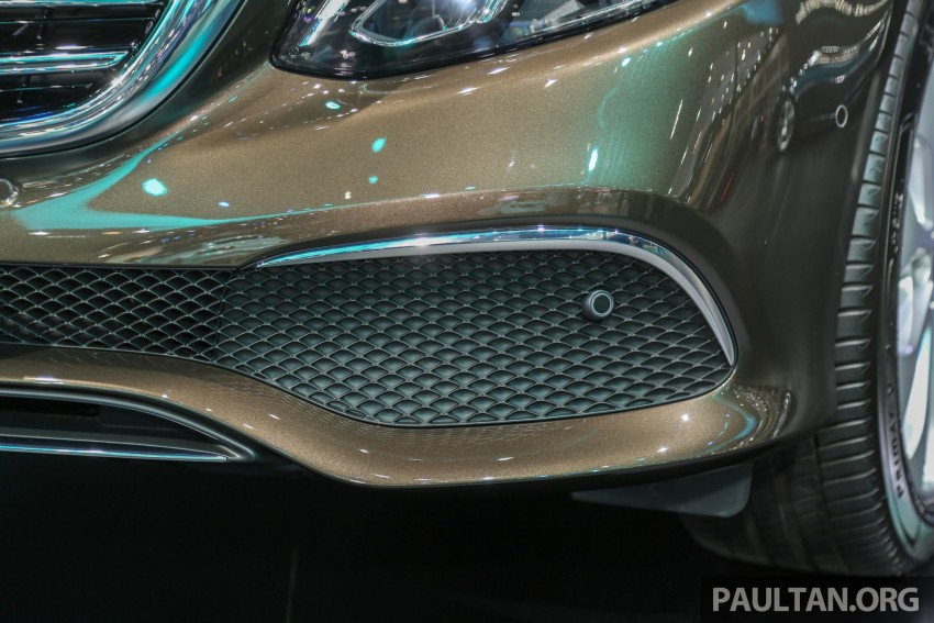 W213 Mercedes E-Class makes ASEAN debut at BKK show – E220d Exclusive, AMG Dynamic for Thailand Image #464586