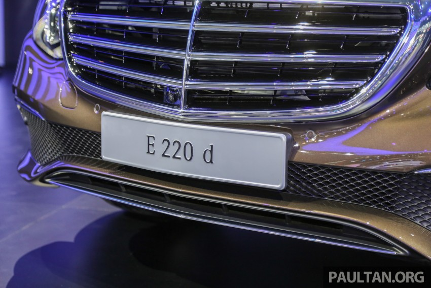 W213 Mercedes E-Class makes ASEAN debut at BKK show – E220d Exclusive, AMG Dynamic for Thailand Image #464587