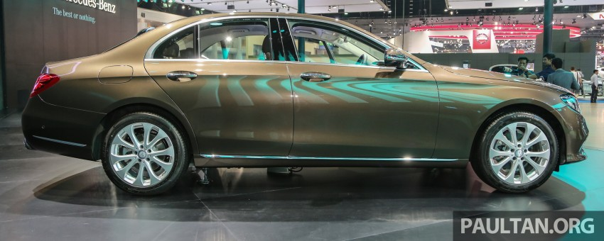 W213 Mercedes E-Class makes ASEAN debut at BKK show – E220d Exclusive, AMG Dynamic for Thailand Image #464589