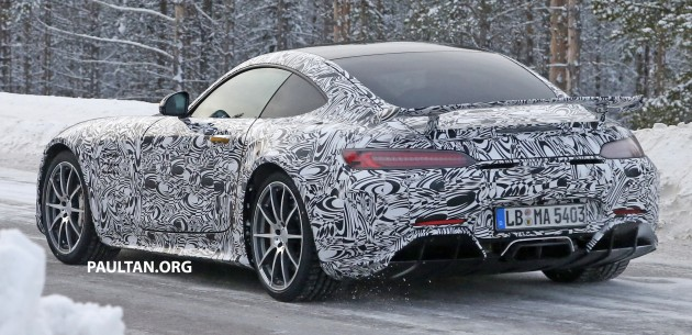 Mercedes-AMG GT R spyshots 11