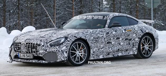 Mercedes-AMG GT R spyshots 2