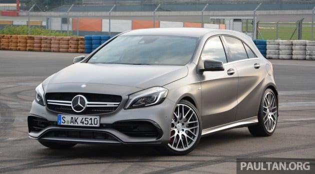 Driven W176 Mercedes Benz A Class Facelift A220d A250