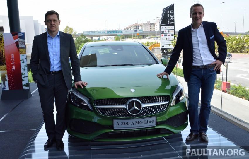 Mercedes-Benz A-Class facelift debuts: A180 Urban Line, A200 AMG Line, A250 Sport; RM196k to RM239k Image #454161