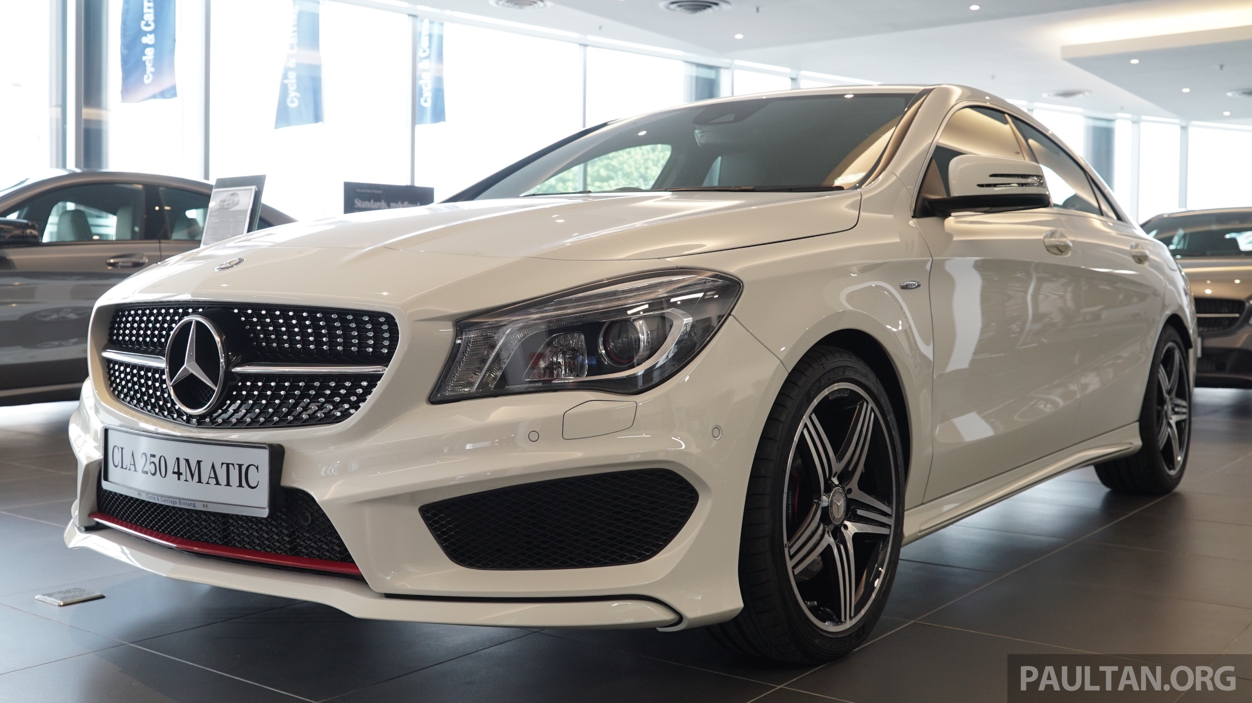 Mercedes Benz Cla >> Mercedes-Benz CLA250 Sport 4Matic in M'sia, RM269k Image ...