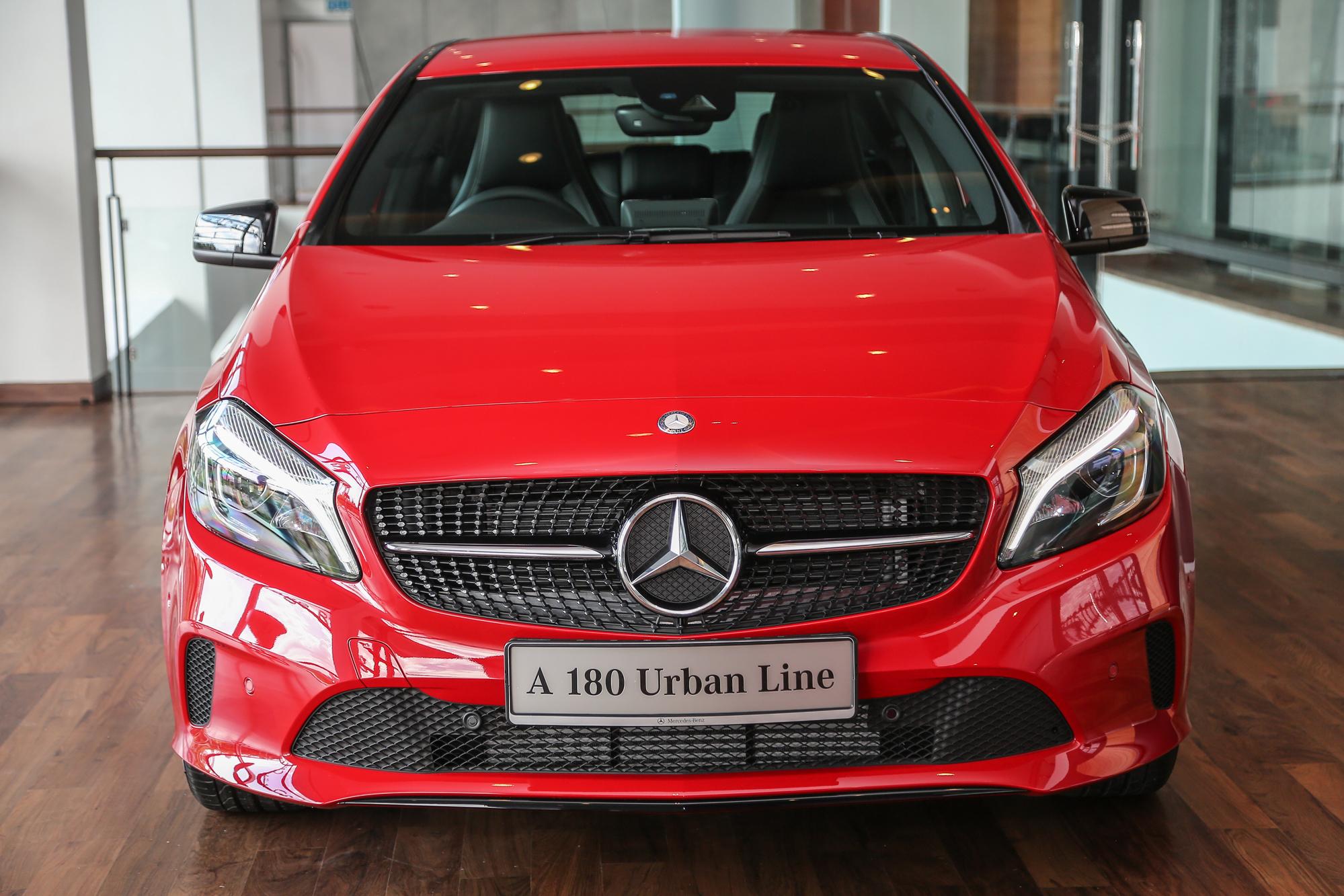 Mercedes-Benz A-Class facelift debuts: A180 Urban Line ...