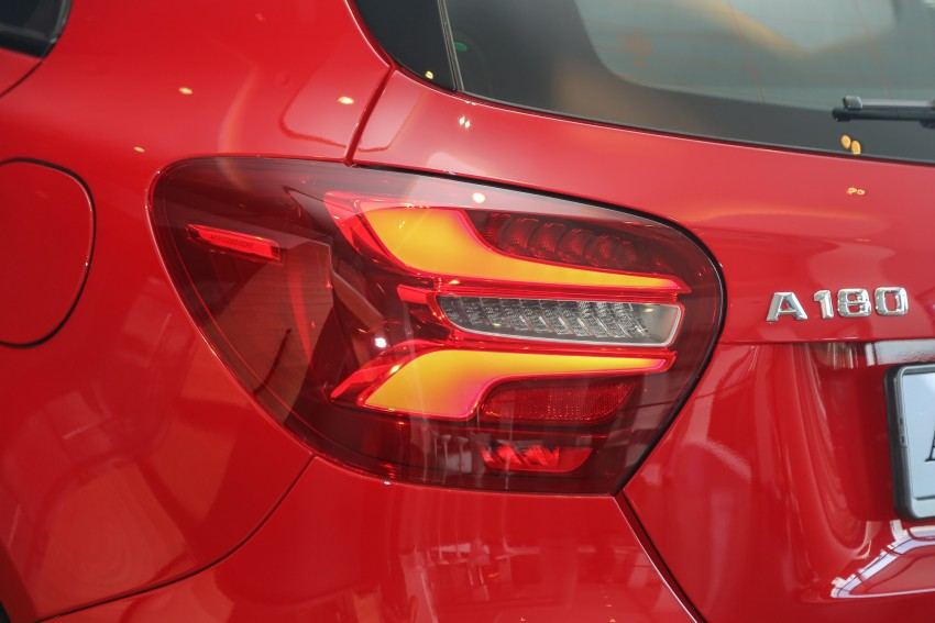 Mercedes-Benz A-Class facelift debuts: A180 Urban Line, A200 AMG Line, A250 Sport; RM196k to RM239k Image #453831