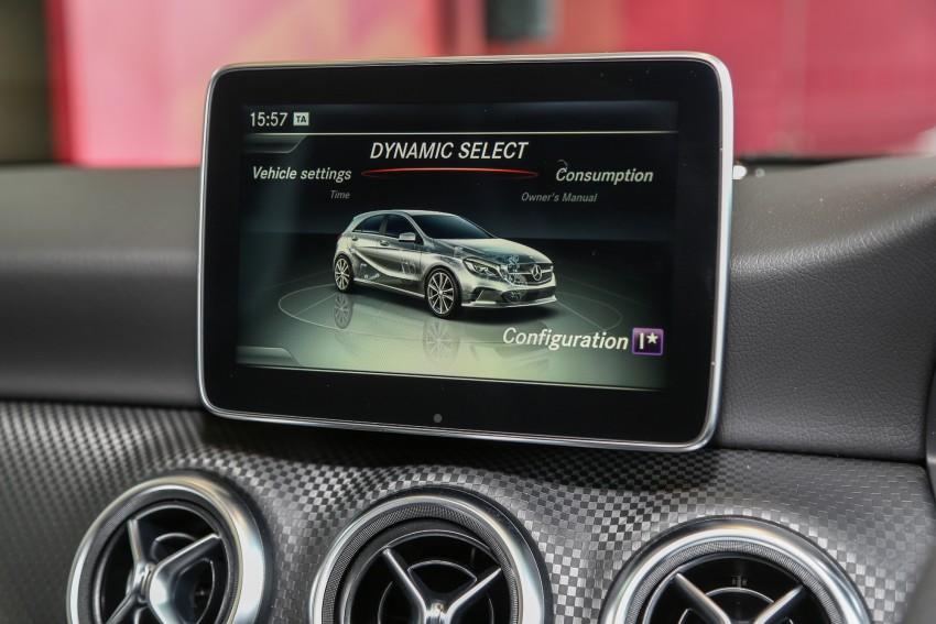 Mercedes-Benz A-Class facelift debuts: A180 Urban Line, A200 AMG Line, A250 Sport; RM196k to RM239k Image #453840