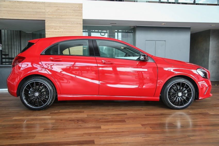 Mercedes-Benz A-Class facelift debuts: A180 Urban Line, A200 AMG Line, A250 Sport; RM196k to RM239k Image #453819