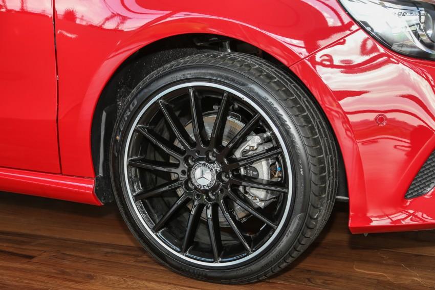 Mercedes-Benz A-Class facelift debuts: A180 Urban Line, A200 AMG Line, A250 Sport; RM196k to RM239k Image #453824