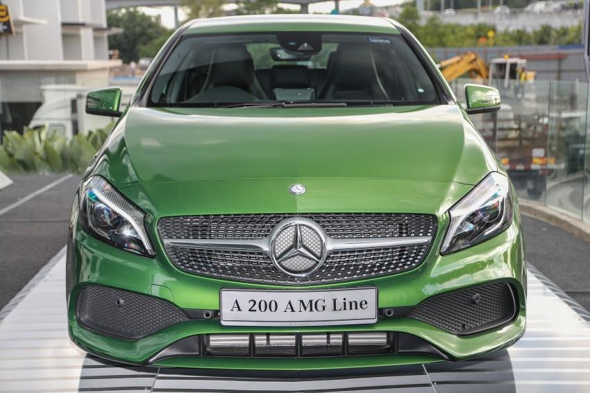 Mercedes-Benz A-Class facelift debuts: A180 Urban Line, A200 AMG Line, A250 Sport; RM196k to RM239k Image #453851