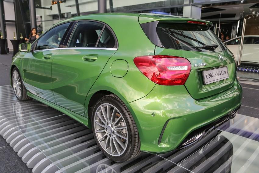 Mercedes-Benz A-Class facelift debuts: A180 Urban Line, A200 AMG Line, A250 Sport; RM196k to RM239k Image #453862
