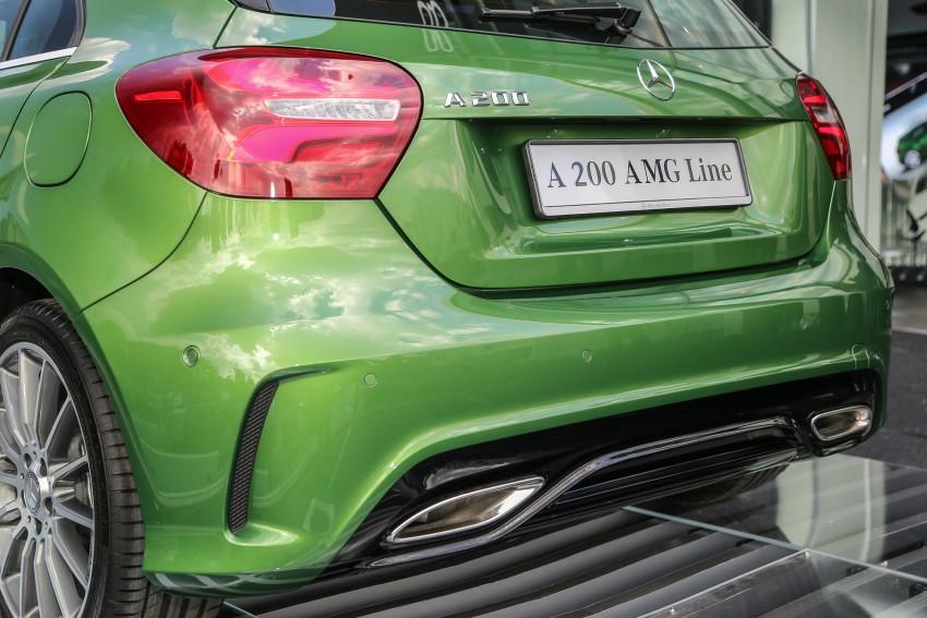 Mercedes-Benz A-Class facelift debuts: A180 Urban Line, A200 AMG Line, A250 Sport; RM196k to RM239k Image #453863