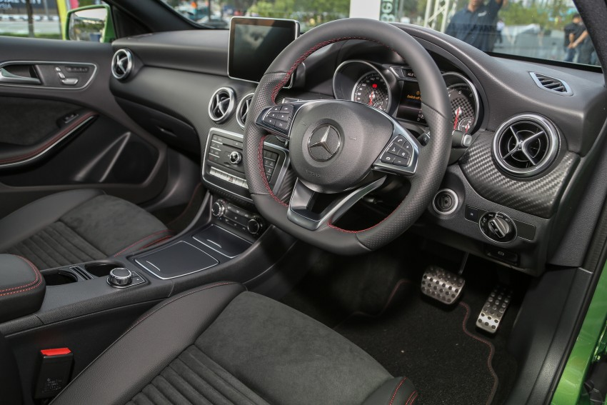 Mercedes-Benz A-Class facelift debuts: A180 Urban Line, A200 AMG Line, A250 Sport; RM196k to RM239k Image #453871