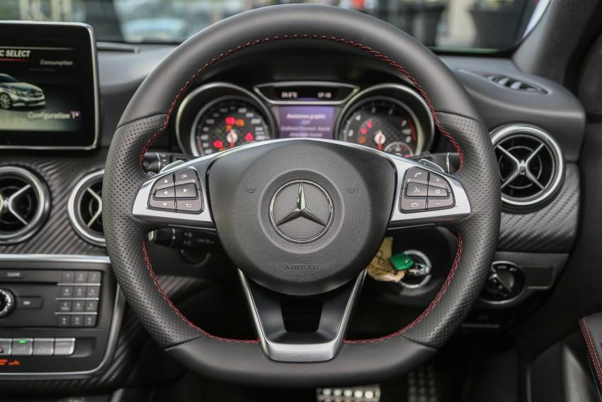Mercedes-Benz A-Class facelift debuts: A180 Urban Line, A200 AMG Line, A250 Sport; RM196k to RM239k Image #453872