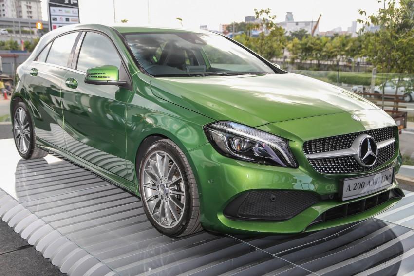Mercedes-Benz A-Class facelift debuts: A180 Urban Line, A200 AMG Line, A250 Sport; RM196k to RM239k Image #453852